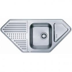 Кухонная мойка ALVEUS DOTTO 60R полированная правосторонняя