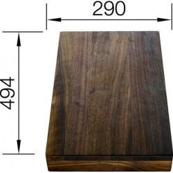Разделочный столик Blanco массив ореха 494х290 мм