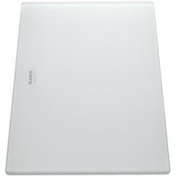 Разделочная доска Blanco белое матовое стекло 420х240 мм