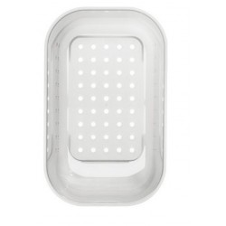 Коландер Blanco NOVA 6S белый пластик 309x159x127 мм