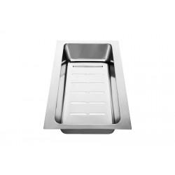 Коландер Blanco AXIA 8 нерж.сталь 353х210 мм