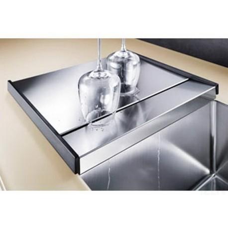 Поддон Blanco специальный со стоком для воды Zerox/Claron нерж. сталь 413х360 мм