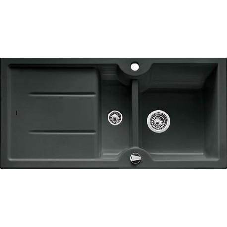 Кухонная мойка BLANCO IDESSA 6 S черный с клапаном-автоматом