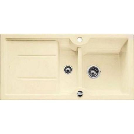 Кухонная мойка BLANCO IDESSA 6 S глянцевый магнолия с клапаном-автоматом