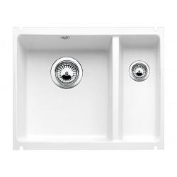 Кухонная мойка BLANCO SUBLINE 350/150-U матовый белый