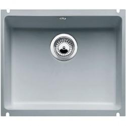 Кухонная мойка BLANCO SUBLINE 500-U серый алюминий