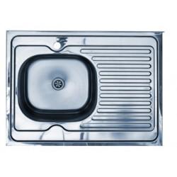 Кухонная мойка KOMETA LUX 60x80 вварная