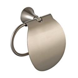 Держатель туалетной бумаги с крышкой Kraus AMNIS KEA-11126 BN