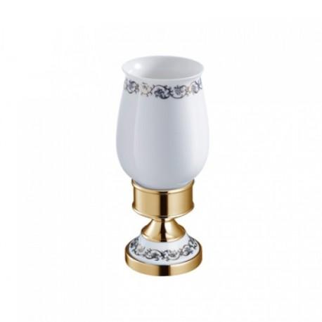 Керамический стакан с держателем Kraus APOLLO KEA-16513 G