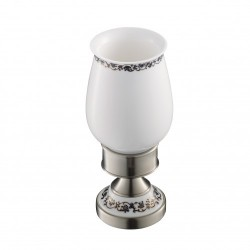 Керамический стакан с держателем Kraus APOLLO KEA-16513 BN