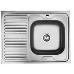 Кухонная мойка Falanco 50x80 0,6 декор