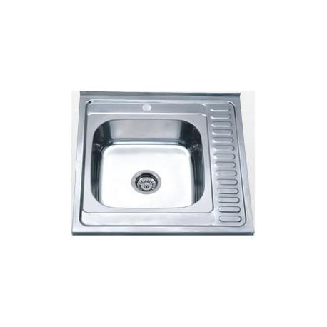 Кухонная мойка Falanco 60x60 0,6 матовая