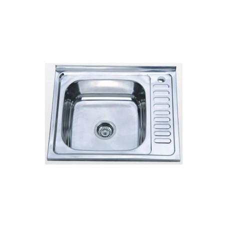Кухонная мойка Falanco 60х50 0,6 матовая