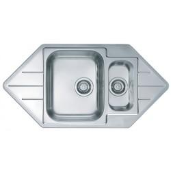 Кухонная мойка ALVEUS LINE 40 полированная
