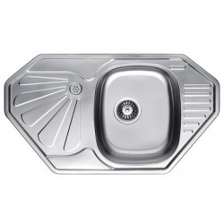Кухонная мойка Fabiano 850х472 микродекор