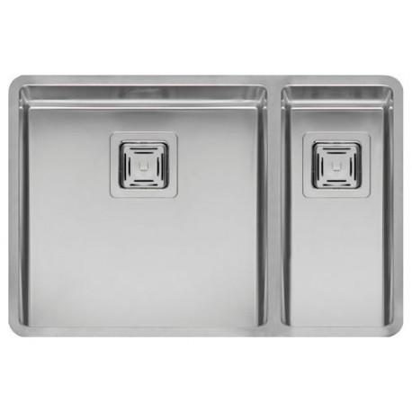 Кухонная мойка Reginox Texas 40x40+18x40 полированная