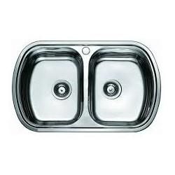 Кухонная мойка HAIBA 800х490 матовая