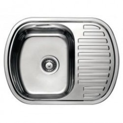 Кухонная мойка HAIBA 630х490 полированная
