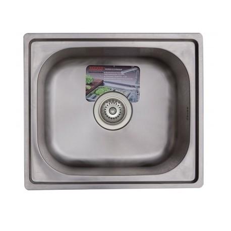 Кухонная мойка TRION 45х39 полированная