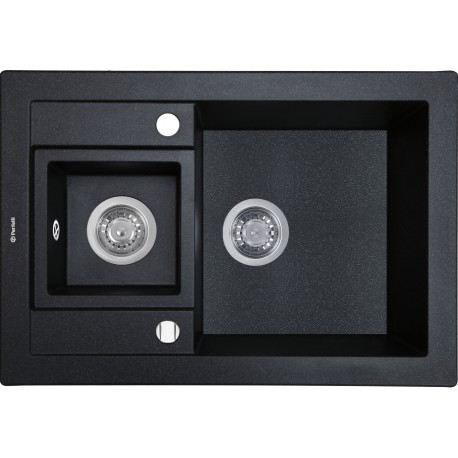 Кухонная мойка Perfelli GRANZE PGG 506-67 BLACK