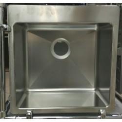 Кухонная мойка Ukinox MEP 500.500 GT 10K полированная