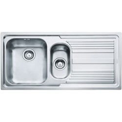 Кухонная мойка Franke Logica Line LLL 651 декор, левостороняя