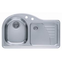 Кухонная мойка ALVEUS FUTUR 40L левосторонняя полированная