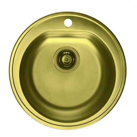 Кухонная мойка ALVEUS FORM 30 золото