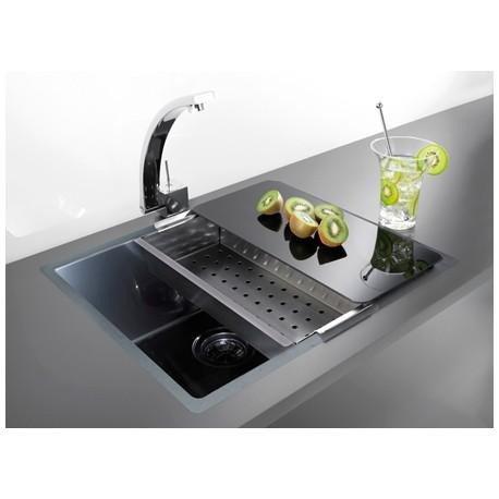 Кухонная мойка ALVEUS Quadrix 50 антрацит