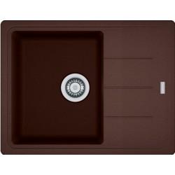 Гранитная мойка Franke Basis BFG 611-62 шоколад