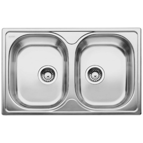 Кухонная мойка BLANCO TIPO 8 Compact матовая