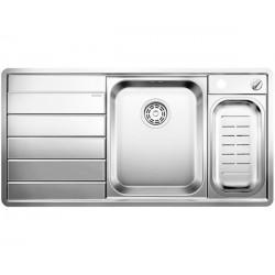 Кухонная мойка BLANCO AXIS II 5 S-IF зеркальная полировка, чаша справа