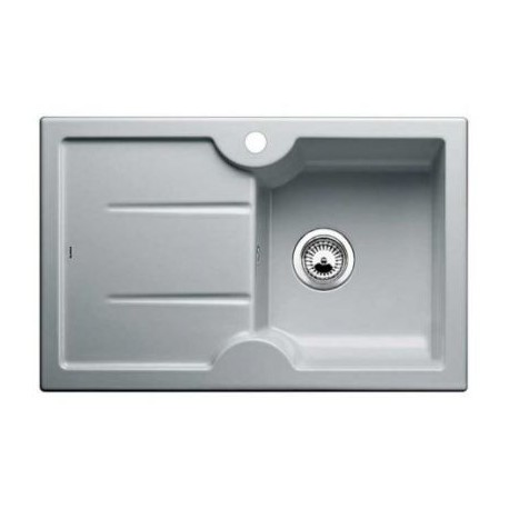 Кухонная мойка BLANCO IDESSA 45 S серый алюминий (чаша справа)