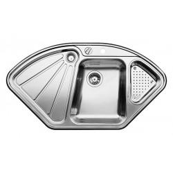 Кухонная мойка BLANCO DELTA-IF нерж. сталь