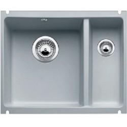 Кухонная мойка BLANCO SUBLINE 350/150-U серый алюминий