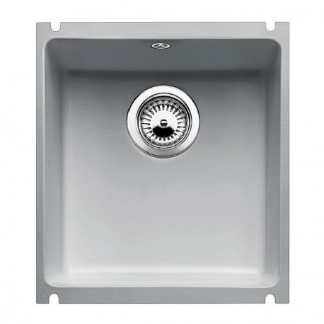 Кухонная мойка BLANCO SUBLINE 375-U серый алюминий