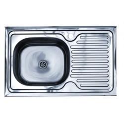 Кухонная мойка KOMETA LUX: 50x80 вварная