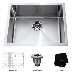 Кухонная мойка Kraus KHU-101-23 матовая