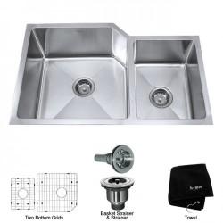 Кухонная мойка Kraus KHU123-32 матовая