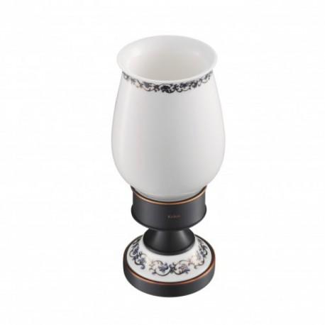 Керамический стакан с держателем Kraus APOLLO KEA-16513 ORB