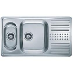 Кухонная мойка ALVEUS DOTTO 20 полированная