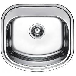 Кухонная мойка Fabiano 490х470 микродекор