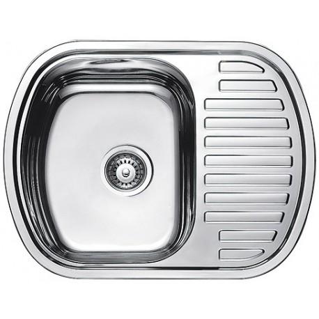 Кухонная мойка Fabiano 630х490 микродекор