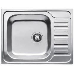 Кухонная мойка Fabiano/Ula 650х500 матовая