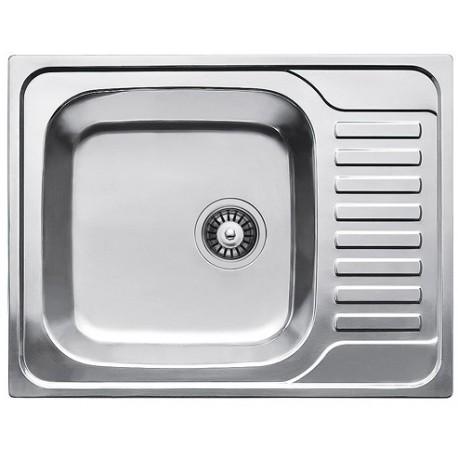 Кухонная мойка Fabiano 650х500 матовая