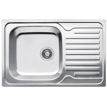 Кухонная мойка Fabiano 780х500 матовая
