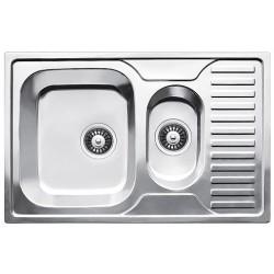 Кухонная мойка Fabiano 780х500х15 микродекор