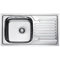 Кухонная мойка Fabiano 780х430 матовая