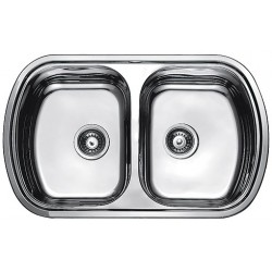 Кухонная мойка Fabiano 800х490х2 микродекор