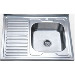 Кухонная мойка Falanco 60x80 0,6 полированная